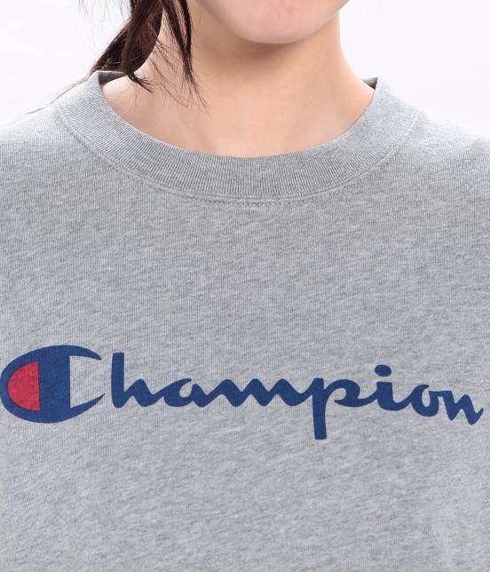 ビス | 【mina4月号掲載】【Champion×ViS】クルーネックロゴスウェット - 3