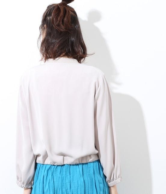 ビス   【UV CARE・接触冷感】ジップブルゾン - 3