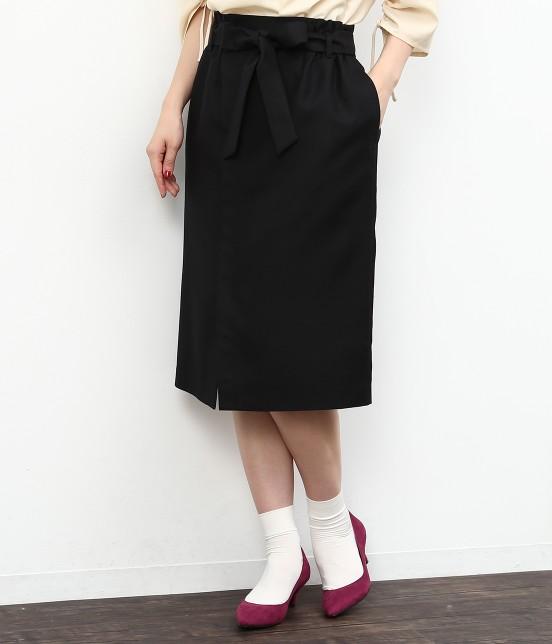 ロペピクニック | リボン付アイラインスカート | ブラック
