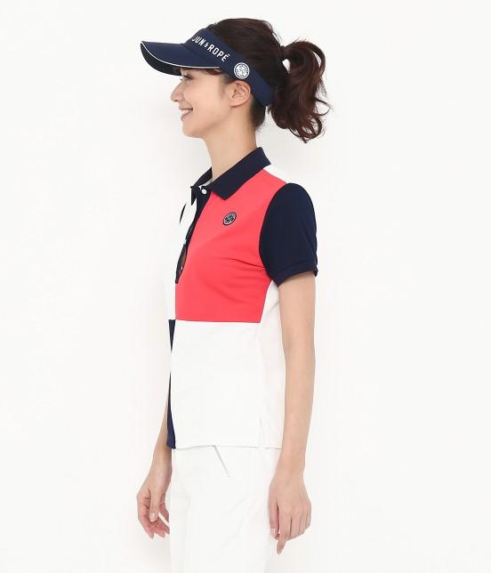 ジュン アンド ロペ | 【遮熱クーリング】【UVカット】コカゲマックスブロッキングポロシャツ - 1