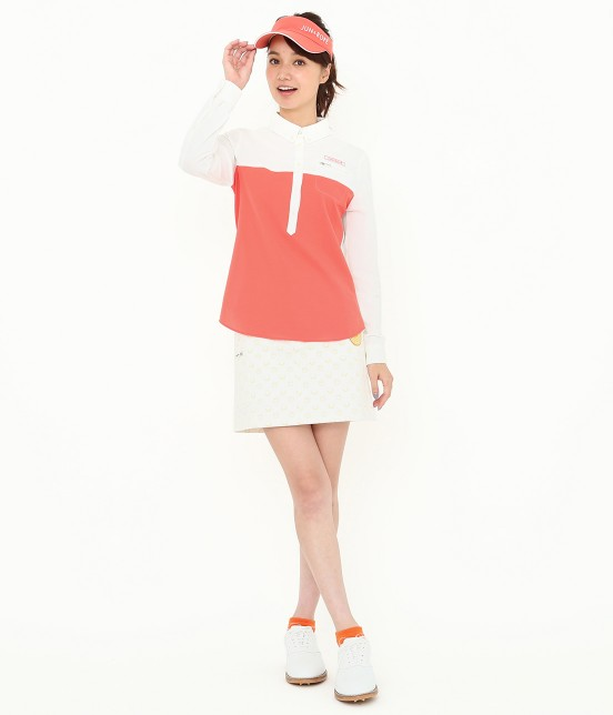 ジュン アンド ロペ | MILLION ICE 配色長袖ポロシャツ - 8