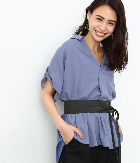ロペピクニック | 半袖ヒラリボンシャツ