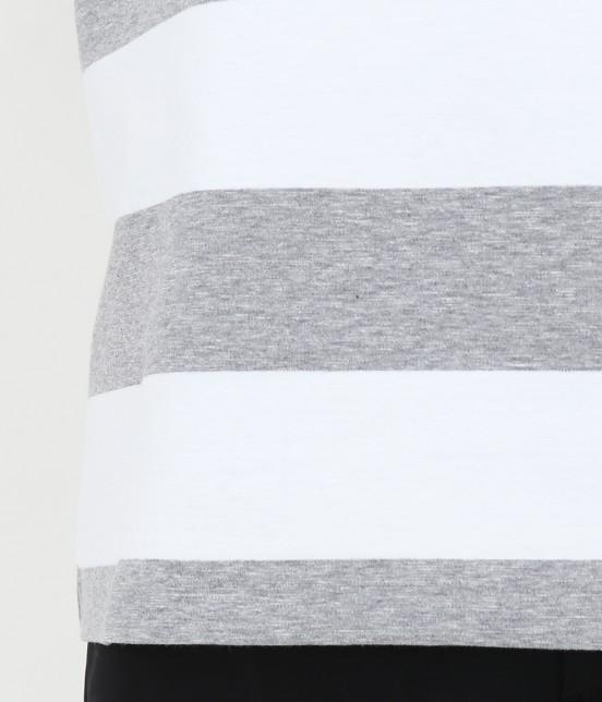 サロン アダム エ ロペ ウィメン | ポンチボーダーTシャツ - 7