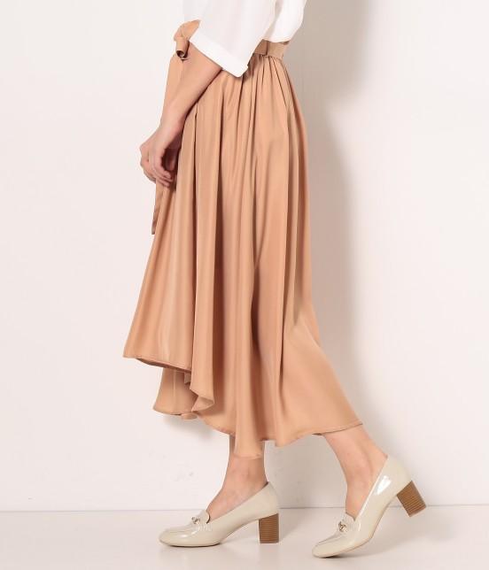 ロペピクニック | 【HIRARI COLLECTION】ヴィンテージサテンスカート - 1