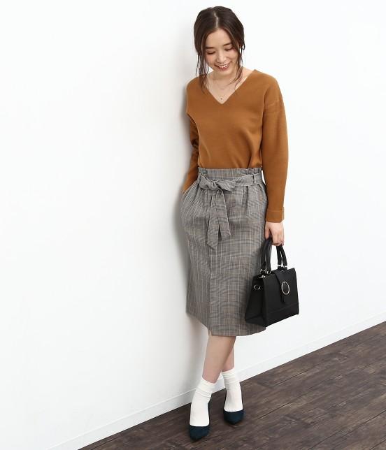 ロペピクニック | リボン付アイラインスカート - 8