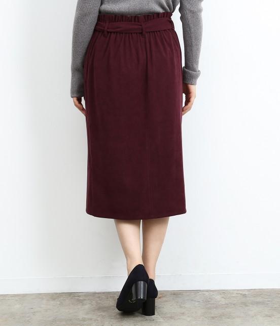 ロペピクニック | 【HAPPY PRICE】ベロアタッチアイラインスカート - 2
