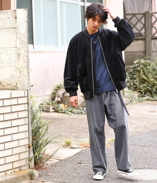 ジュンレッド | 【FINEBOYS 4月号掲載商品】【WEB別注】ワイドデニムパンツ - 6