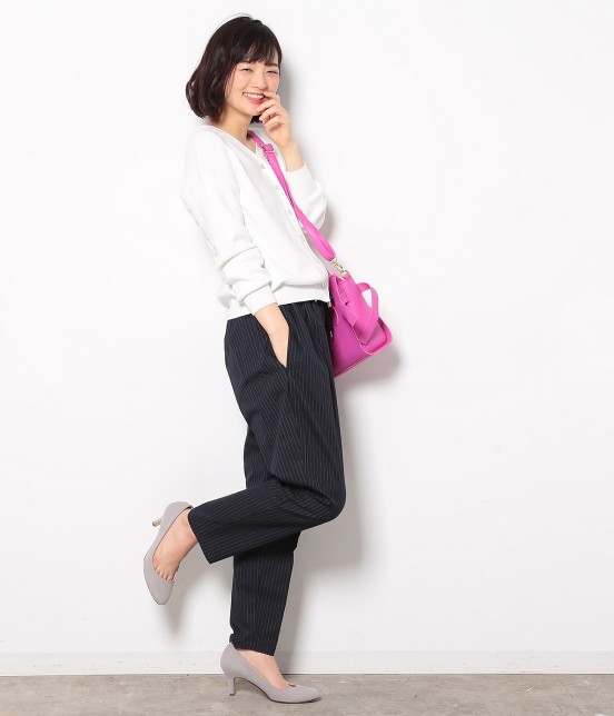 ビス   ★戸田恵梨香さん着用★ドロストテーパードパンツ - 9