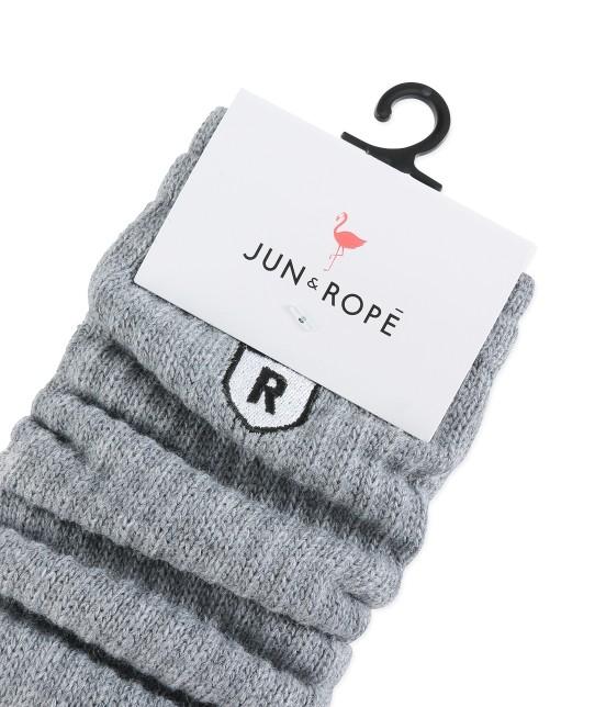 ジュン アンド ロペ | ウール混オーバーソックス - 1