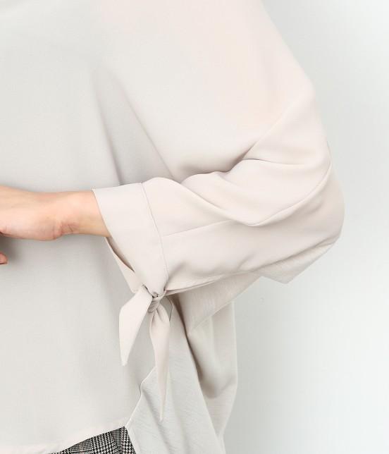 ロペピクニック | 7分袖ヒラリボンムジシャツ - 5