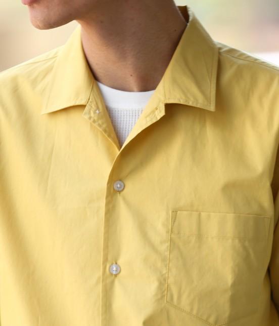 ジュンレッド | ドライコットンオープンカラーシャツ - 3