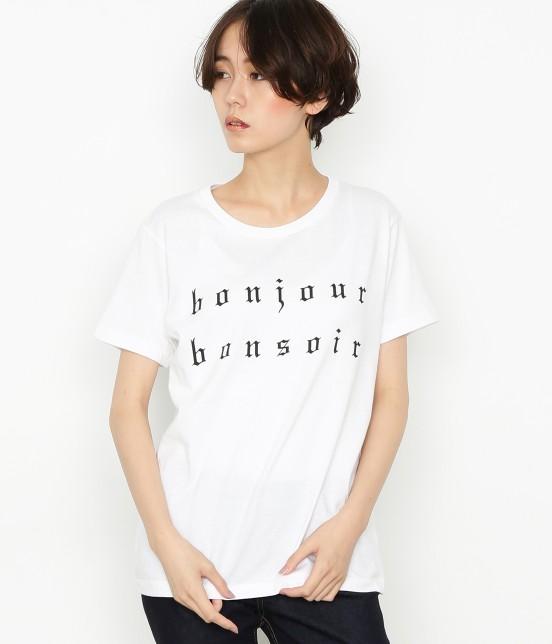 ボンジュールボンソワール | 【bonjour bonsoir】BONJOUR BONSOIR TEE - 6