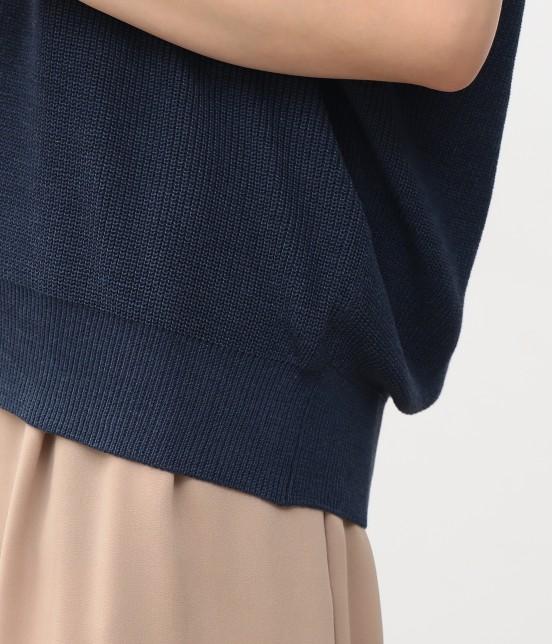 ビス | フラワー刺繍フレンチスリーブプルオーバー - 5