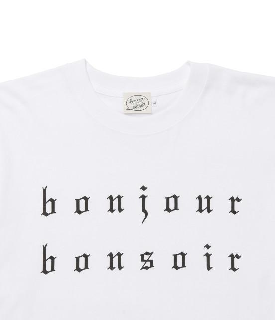 ボンジュールボンソワール | 【bonjour bonsoir】BONJOUR BONSOIR TEE - 2