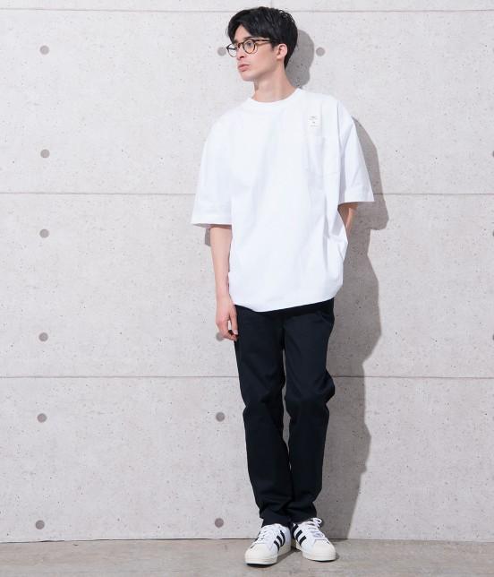 アダム エ ロペ オム | 【CAMBER for ADAM ET ROPE'】FAKE PRINT Tシャツ - 2