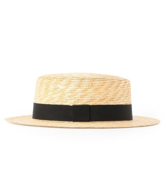 サロン アダム エ ロペ ウィメン | 【田中帽子×SALON】カンカン帽(太麦) - 5