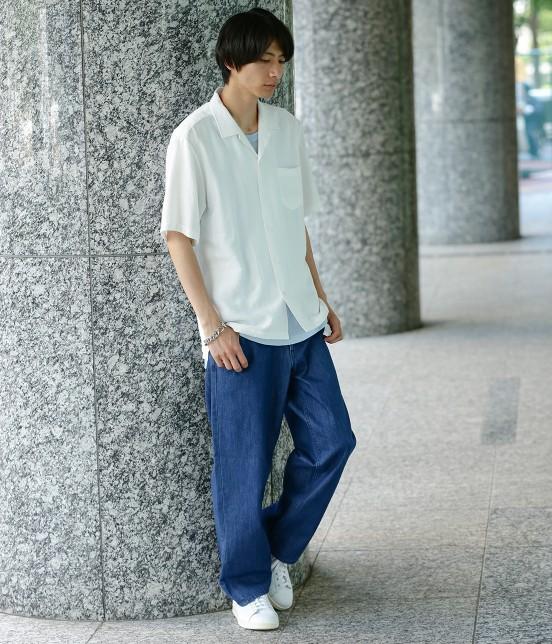 ジュンレッド   【WEB別注】ワイドデニムパンツ - 10