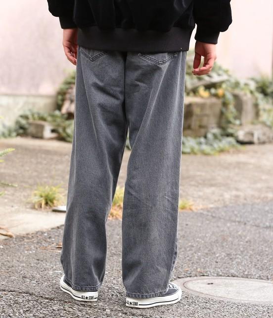 ジュンレッド   【WEB別注】ワイドデニムパンツ - 9