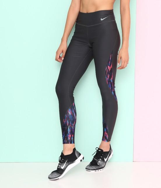 ナージー   【Nike】Power Poly Digital MDS Tights
