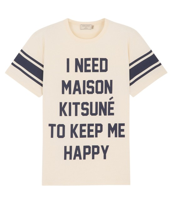 MAISON KITSUNÉ MEN | 【今だけ!WEB店舗限定40%OFF】TEE SHIRT I NEED | ホワイト系