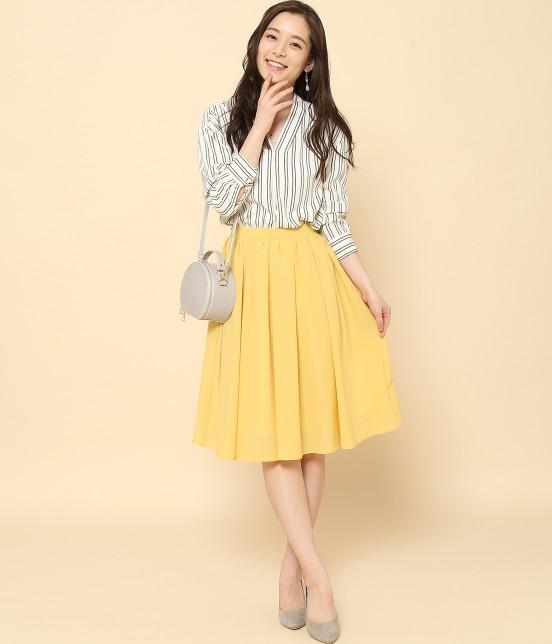 ロペピクニック | 【10%OFF Campaign】【HAPPY PRICE】サップギャザースカート - 9