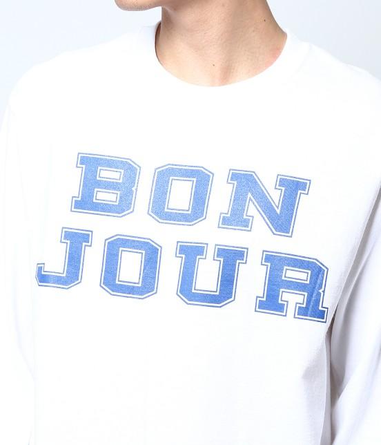 ボンジュールボンソワール | 【bonjour bonsoir】LNG SLV TEE TURU - 8