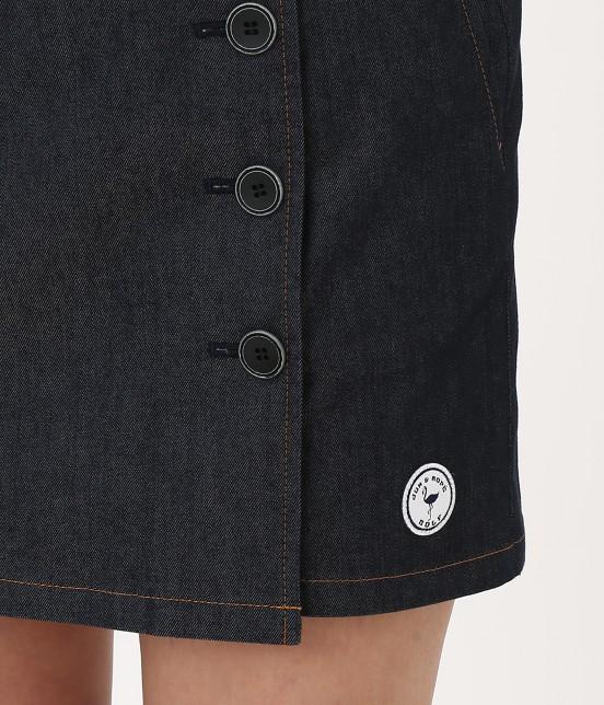 ジュン アンド ロペ | 【吸水速乾】COOL MAXデニムスカート - 7