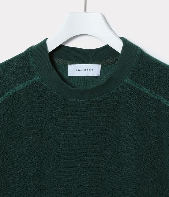 アダム エ ロペ オム | リネンパイルビッグTシャツ - 5