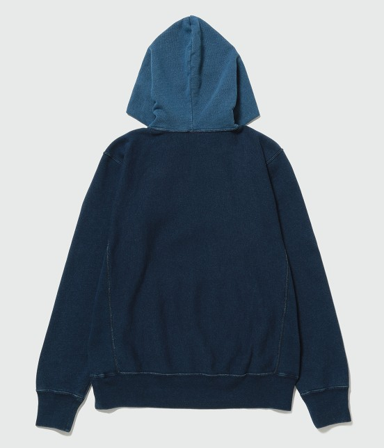 アダム エ ロペ オム | 【Champion for ADAM ET ROPE' 】Exclusive Indigo Hoodie - 1