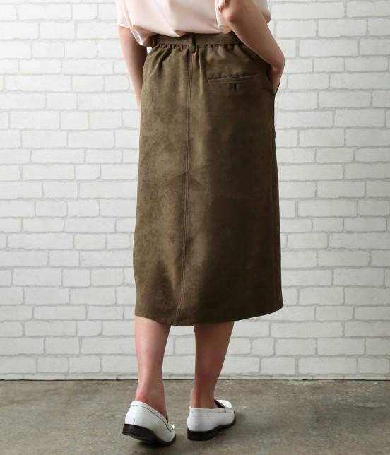 サロン アダム エ ロペ ウィメン | 【先行予約】CAPスウェードタイトスカート - 2