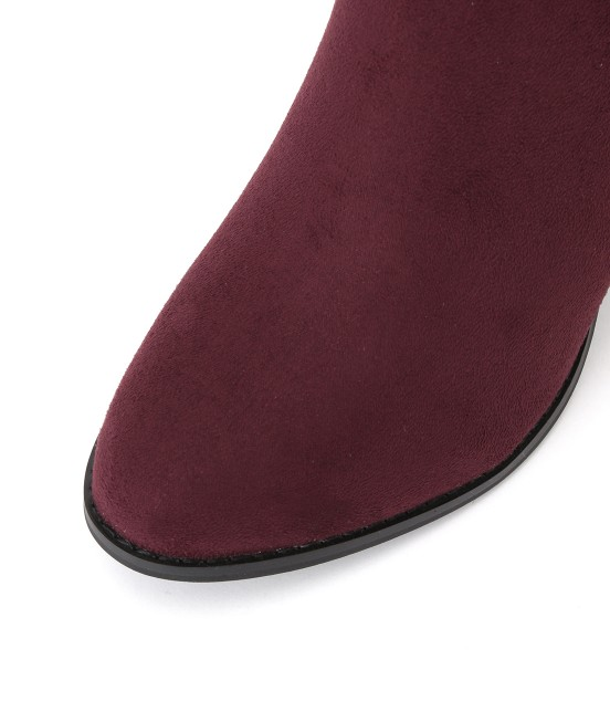 ロペピクニックパサージュ   【街ピク着用アイテム ROPE' PICNIC×MERY】【WEB限定35.40サイズ】メタルヒールミドル丈ブーツ - 3