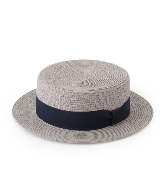 ロペピクニックパサージュ | ペーパーブレードカンカン帽 | グレー