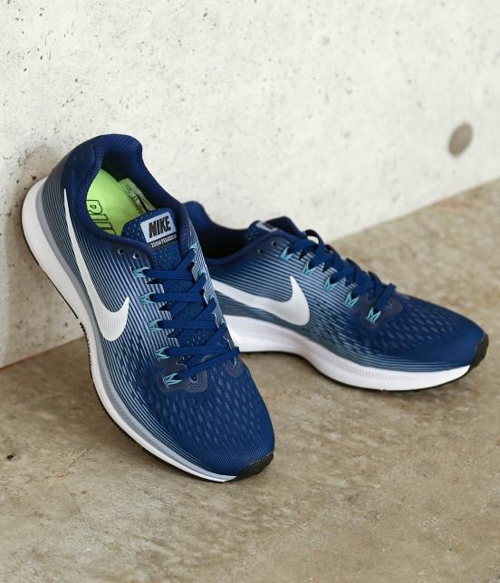 ナージー   【Nike】Air Zoom Pegasus 34   ネイビー系
