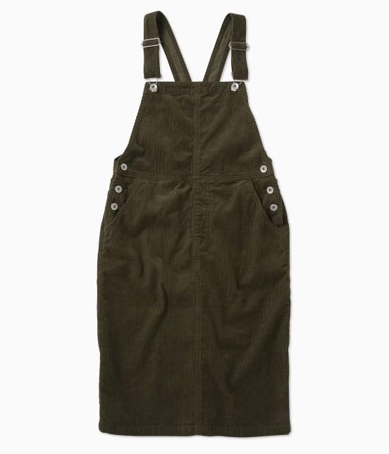 ル ジュン ウィメン | コーデュロイサロペットスカート