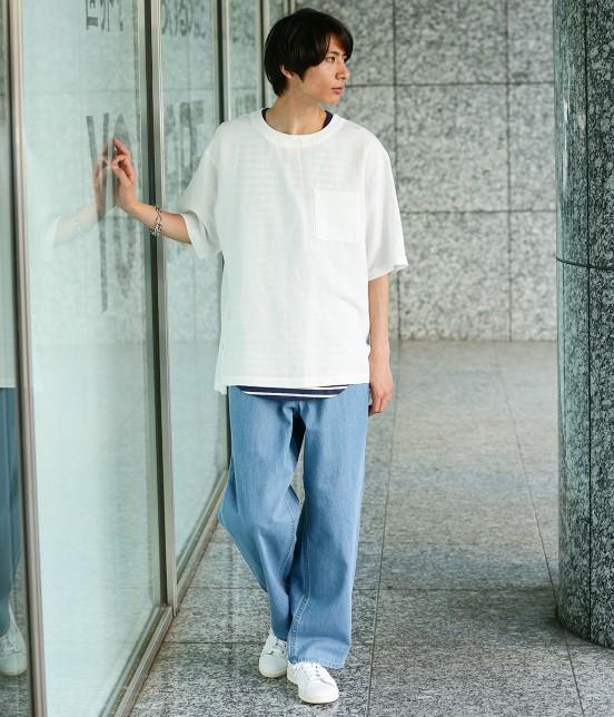 ジュンレッド | 【WEB別注】ワイドデニムパンツ - 8