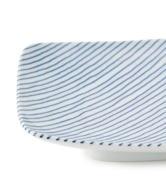 サロン アダム エ ロペ ホーム | 【白山陶器】重ね縞 長焼皿 - 1