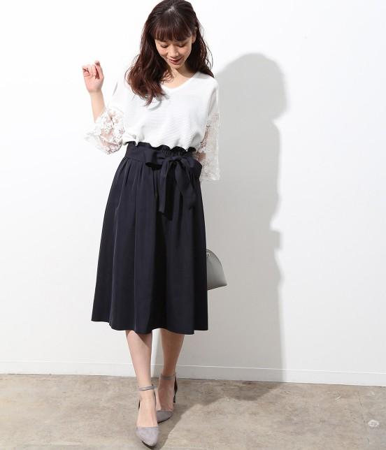 ビス | 【2WAY】リバーシブルカラースカート - 11