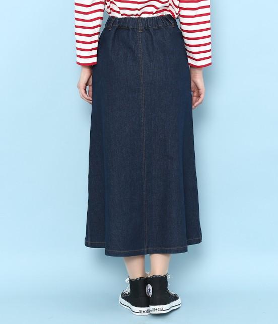 ロペピクニック | 【10%OFF Campaign】【予約】【WEB限定】フロントボタンデニムスカート - 2