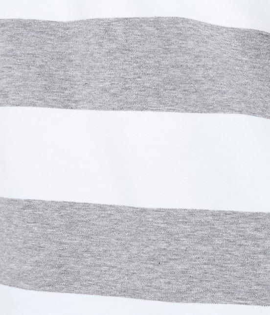 サロン アダム エ ロペ ウィメン | ポンチボーダーTシャツ - 8