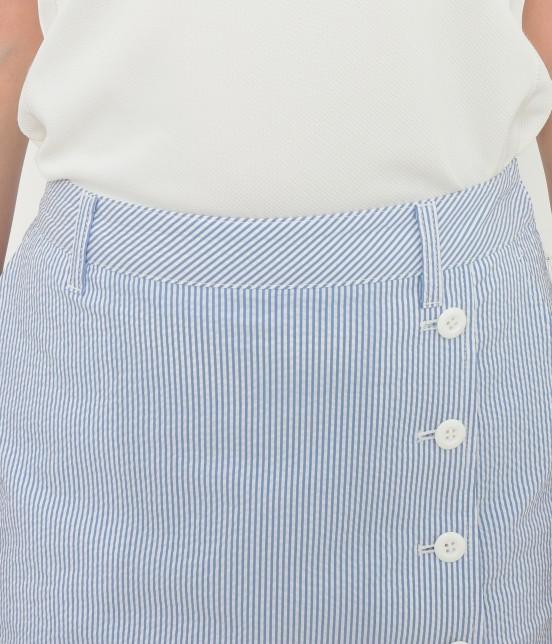 ジュン アンド ロペ | 【吸水速乾】【COOLMAX】クールマックスラップスカート - 3