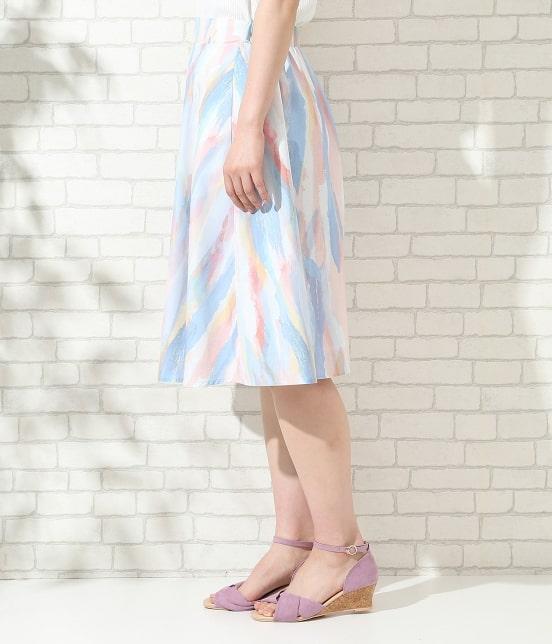 ロペピクニック   【MY LITTLE BOX × ROPE' PICNIC】フレアースカート - 1
