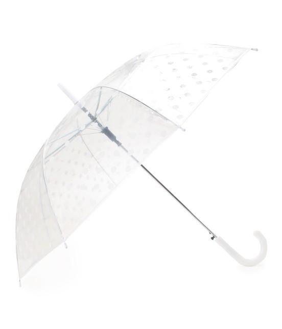ビス | ドット柄ビニール傘 | ホワイト