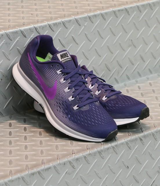 ナージー   【Nike】Air Zoom Pegasus 34   パープル