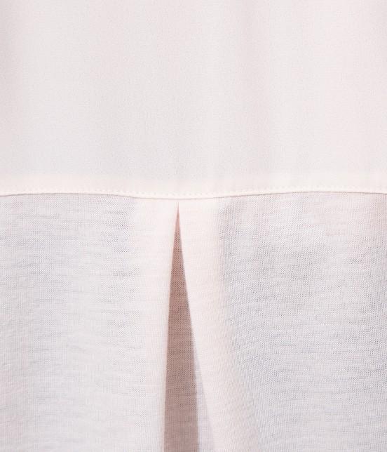 ビス | 【ティラウス(R)】異素材スキッパーブラウス - 3