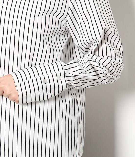 ロペピクニック | 【今だけ!WEB店舗限定50%OFF】【DRY MIX】【2WAY】ロングカフスデザインカラーブラウス - 4