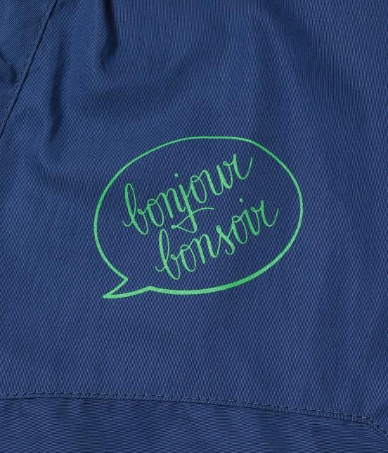 ボンジュールレコード | 【bonjour bonsoir】NYLON HOODIE - 9