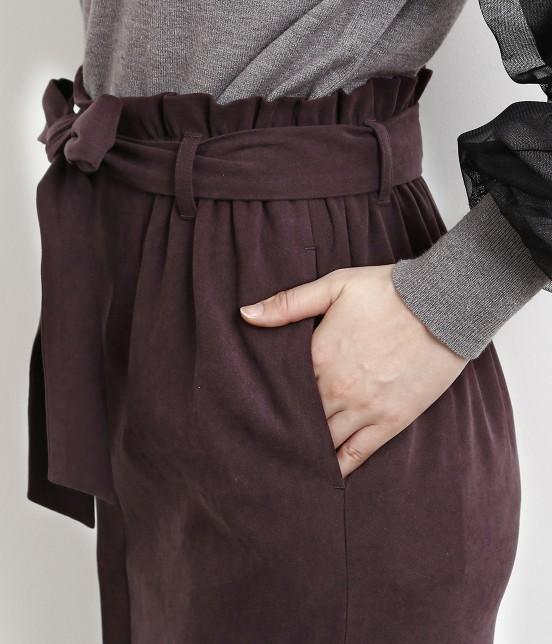 ロペピクニック   【新色追加】【HAPPY PRICE】ベロアタッチアイラインスカート - 4