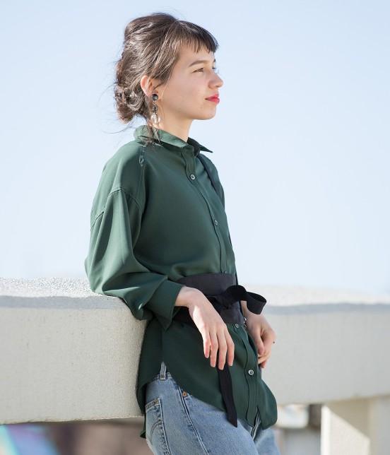 アダム エ ロペ ファム | 【ただいまセール開催中】ビッグシャツ - 12