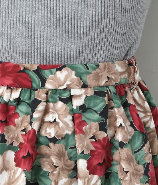ビス | 【sweet11月号掲載】【sweet×ViSコラボ】フラワープリントスカート - 6