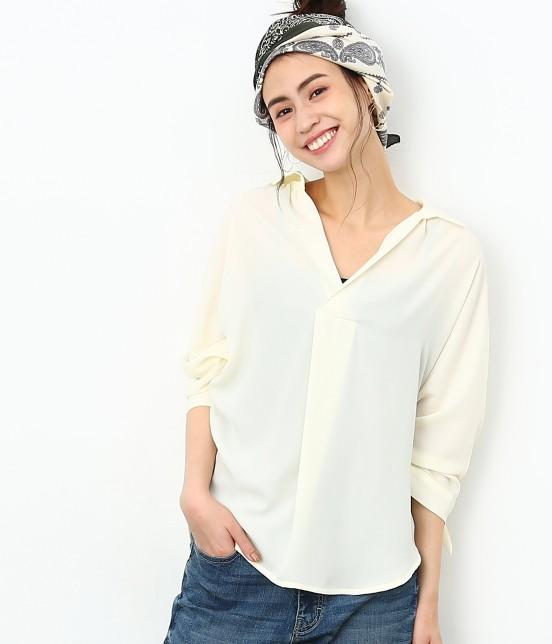 ロペピクニック | 7分袖ヒラリボンムジシャツ - 11